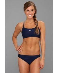 Nike - Core Solids Sport 2-piece (new Royal) Women's Swimwear Sets - Lyst