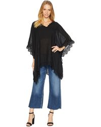 Steve Madden - Mixed Lace Poncho - Lyst