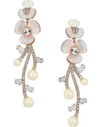 Kate Spade | Disco Pansy Statement Earrings | Lyst