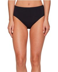 Bleu Rod Beattie - Kore High Waist Bikini Bottom (black) Women's Swimwear - Lyst