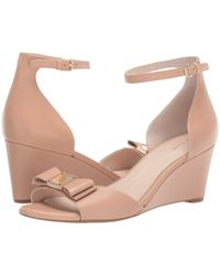 Cole Haan - S Tali Grand Bow Wedge 65mm - Lyst