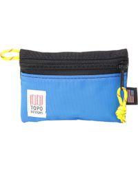 f19b580ca837 Topo Designs - Micro Accessory Bags (black royal) Bags - Lyst