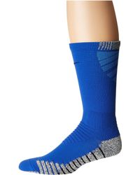 Nike - Grip Vapor Crew Football Socks (white/black/black 1) Men's Crew Cut Socks Shoes - Lyst