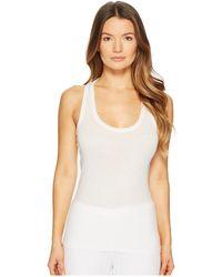 Skin - Organic Racerback Tank (white) Women's Pajama - Lyst