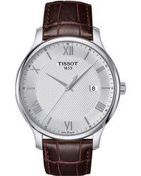 Tissot - Tradition - T0636101603800 - Lyst