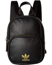 e7512e125a adidas Originals - Originals Mini Pu Leather Backpack (dust Pink) Backpack  Bags - Lyst