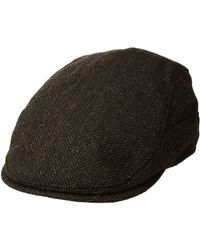 6df783617a8 Lyst - Stetson Wool Blend Nail Head Cap (grey) Caps in Gray for Men