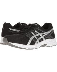 Asics - Gel-contend 4 (black/silver/carbon) Men's Running Shoes - Lyst