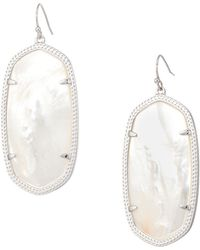 Kendra Scott - Danielle Earring (gold/rhodium Filigree Mix) Earring - Lyst
