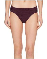 Bleu Rod Beattie - Crochet Olé Side Tab Hipster Bikini Bottom - Lyst