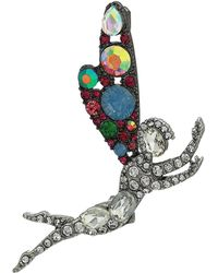 Betsey Johnson - Fairy Pin (multi) Brooches Pins - Lyst