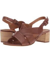 Paul Green - Reese Sandal (nougat Leather) Women's Sandals - Lyst