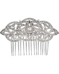Nina - Olinda (silver/crystal) Hair Accessories - Lyst