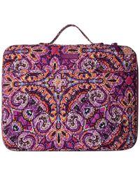 Vera Bradley - Laptop Organizer (water Bouquet) Briefcase Bags - Lyst