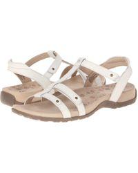Taos Footwear - Trophy (vintage Silver) Women's Sandals - Lyst