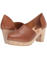 Free People - Monroe Clog (taupe) Women's Shoes - Lyst