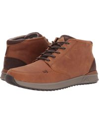 Reef - Rover Mid Wt (chocolate/brown) Men's Shoes - Lyst