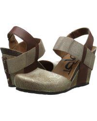 Otbt - Rexburg (chestnut Gold) Women's Wedge Shoes - Lyst
