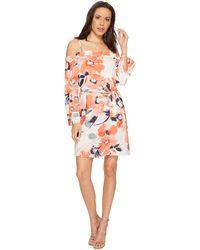 Bishop + Young - Chrissy Cold Shoulder Dress (print) Women's Dress - Lyst