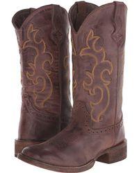 Roper - Classic Cowgirl (tan) Cowboy Boots - Lyst