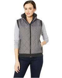 Cinch - Polyfill Vest (grey) Women's Vest - Lyst