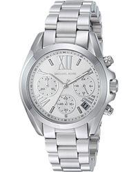 4181364a3127 Michael Kors - Mk6174 - Mini Bradshaw (silver) Watches - Lyst