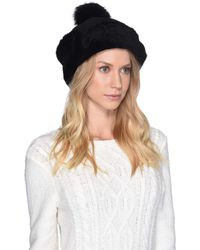 UGG - Up Flap Water Resistant Sheepskin Hat (metallic Chestnut) Caps - Lyst