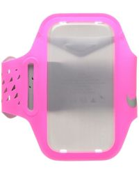 Nike - Ventilated Arm Band (hyper Pink/wolf Grey/silver) Athletic Sports Equipment - Lyst