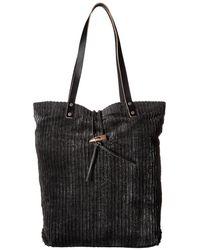 Free People - Corduroy Tote (black) Tote Handbags - Lyst