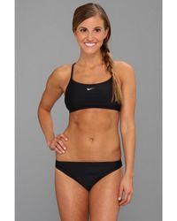 22c52c48c5204 Nike - Core Solids Sport 2-piece (midnight Navy) Women s Swimwear Sets -