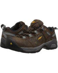 Keen Utility - Detroit Xt Steel Toe Esd (cascade Brown/gargoyle) Men's Work Boots - Lyst