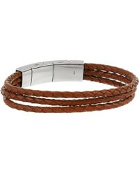 Fossil | Multi-strand Leather Bracelet | Lyst