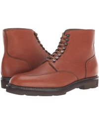 John Lobb - Helston Moc Toe Boot (tan) Men's Boots - Lyst