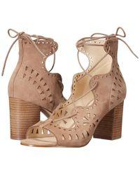Nine West - Gweniah Suede Dress Sandal - Lyst