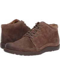 Born - Nigel Boot (rust/brown Combo) Men's Lace-up Boots - Lyst