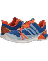 Lyst adidas Originals Terrex agravic GTX Trail zapato en gris para hombres
