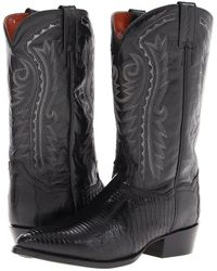 Dan Post - Raleigh (black) Cowboy Boots - Lyst