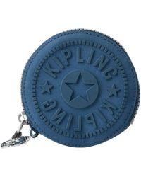 Kipling - Marguerite Coin Case (deep Purple) Wallet - Lyst