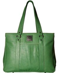 Kenneth Cole Reaction - Casual Fling - 15.0 Computer Tote (slate Blue) Tote Handbags - Lyst