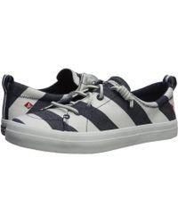 Sperry Top-Sider - Crest Vibe Breton Stripe (navy/white) Women's Shoes - Lyst