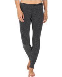 781dbacac Stonewear Designs - Transit Tights (black Heather) Women s Casual Pants -  Lyst