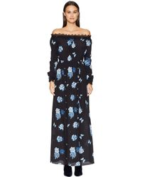 The Kooples - Floral-print Silk Dress - Lyst