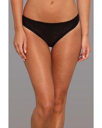 On Gossamer - Gossamer Mesh Hip G Thong 3522 (black) Women's Underwear - Lyst