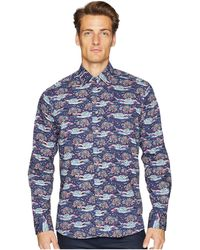 Etro - New Warrant Mountainscape Shirt - Lyst