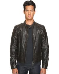 a65928ab03 Belstaff - Outlaw Lightweight Hand Waxed Leather Jacket (black) Men's Coat  - Lyst