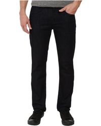 7 For All Mankind - The Straight W/ Clean Pocket In Deep Well (deep Well) Men's Clothing - Lyst