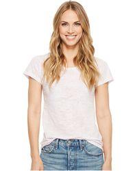 Alternative Apparel - Classic Burnout Keepsake Tee (lilac Orchid) Women's T Shirt - Lyst