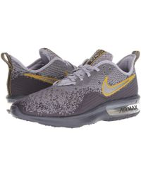 timeless design 80d3b 3ea91 Nike - Air Max Sequent 4 (gridiron metallic Pewter provence Purple) Men s