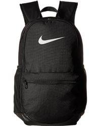 Nike - Brasilia Medium Backpack (wheat black mystic Red) Backpack Bags - ea347dff245fe