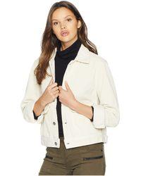 AG Jeans - Evonne Jacket (ivory Dust) Women's Coat - Lyst